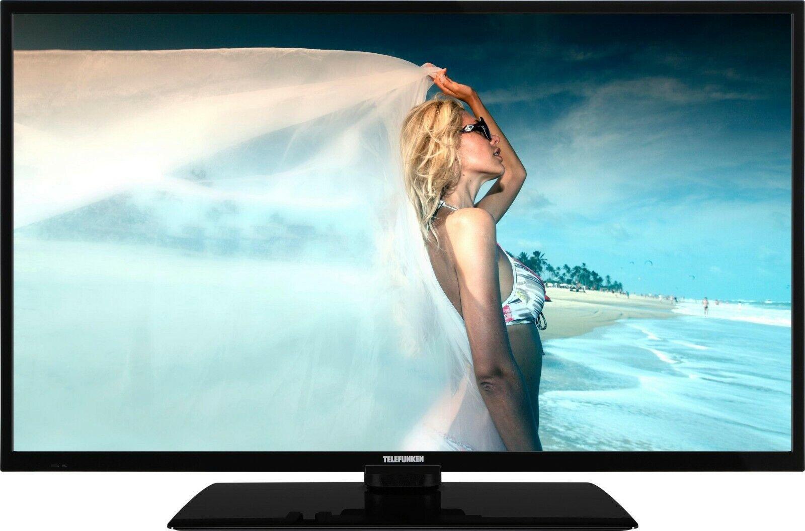 Telefunken LED-Fernseher 98 cm/39 Zoll, Full HD, Triple Tuner DVB-T2 HD/C/S2