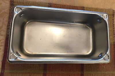 Vollrath Sheboygan Stainless Steel 4.1qt 4 Oz. Steam Table Pan 12 X 6x 4