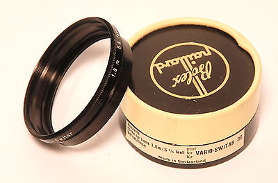 für Bolex Paillard f. Vario-Switar 86 Vorsatzlinse close up lens 1,6m/5 1/4 feet
