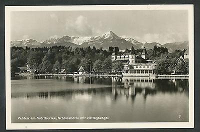 Oostenrijk  Velden am Wörthersee  Schlosshotel mit Mittagskogel