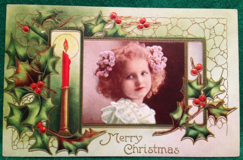 Christmas Post Card Postcard Used Germany