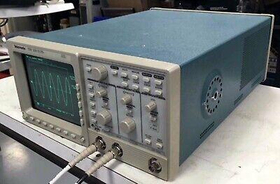 Tektronix Tds320 Two-channel Digital Oscilloscope 100 Mhz 500 Msas Tested
