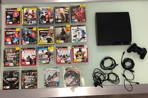 Playstation 3 120GB   19 Games Carseldine Brisbane North East Preview