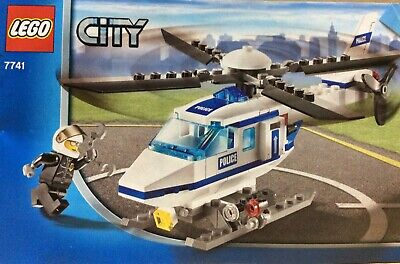Lego City 7741 Police Helicopter, 100% Complete.