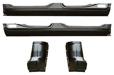 OE Style Rocker Panel & Cab Corner Kit Crew Cab for 09-18 Ram 1500 Pickup Truck
