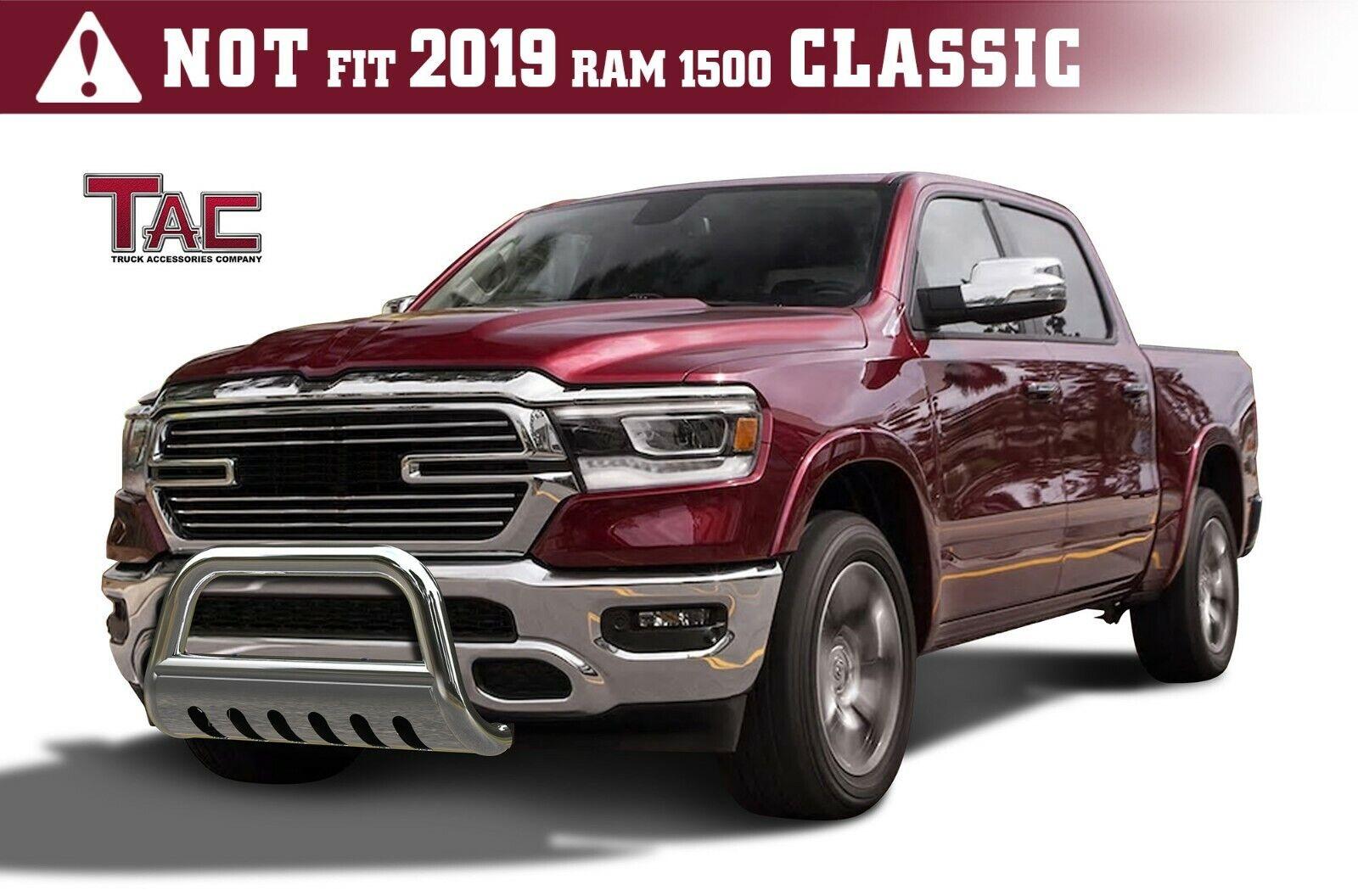 For 2019 2021 Dodge Ram 1500 3 S S Bull Bar Brush Grille Guard Front Bumper Ebay