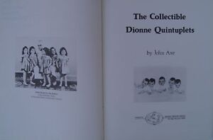DIONNE QUINTUPLETS AND THEIR LIFE STORY HARDCOVER By JOHN AXE