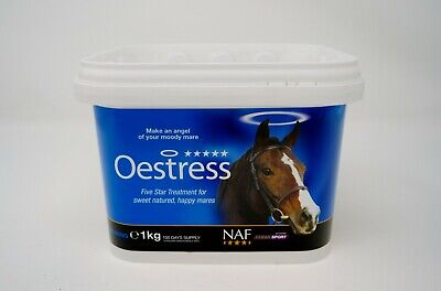 NAF Oestress 5 Star 1KG Supplement for Horses - Support for Hormonal Mares
