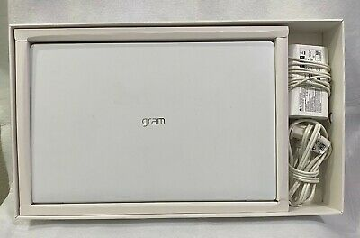 LG Gram 14in. 256GB, Intel Core i5-8265U 1.60GHz 8GB Laptop White -EXCELLENT