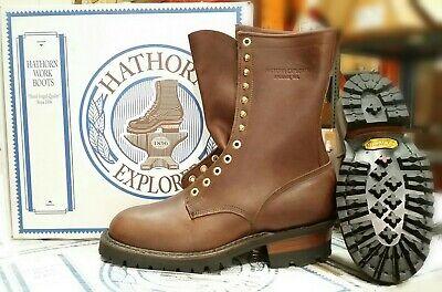 Hathorn Explorer 10 Smokejumper Wildland Boots - Brown