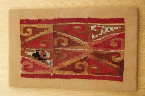 Textile weave antique tribal American Huari Pre Columbian