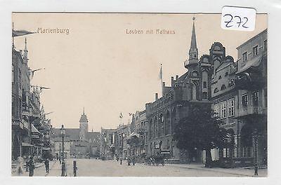 z72, Marienburg Lauben mit Rathaus tolle Straßenkarte !