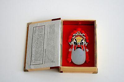 Fengyatang Handdicrafts Chinese Opera Facial Makeup Mask With Box