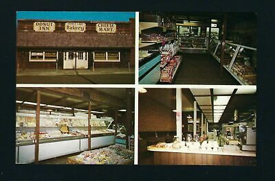 Spirit Lake Iowa IA 1973, 4 Pix PC, Bakery, Cheese Mart, Donut Inn, Also PIZZA