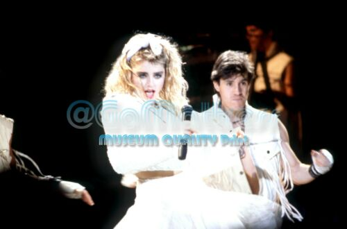 "Madonna 1985 Virgin Tour Detroit - Professional Museum Quality 8.5"" x 11"" Photo"