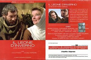 IL-LEONE-D-039-INVERNO-ANTHONY-HARVEY-DVD-NUOVO-SIGILLATO-EDITORIALE