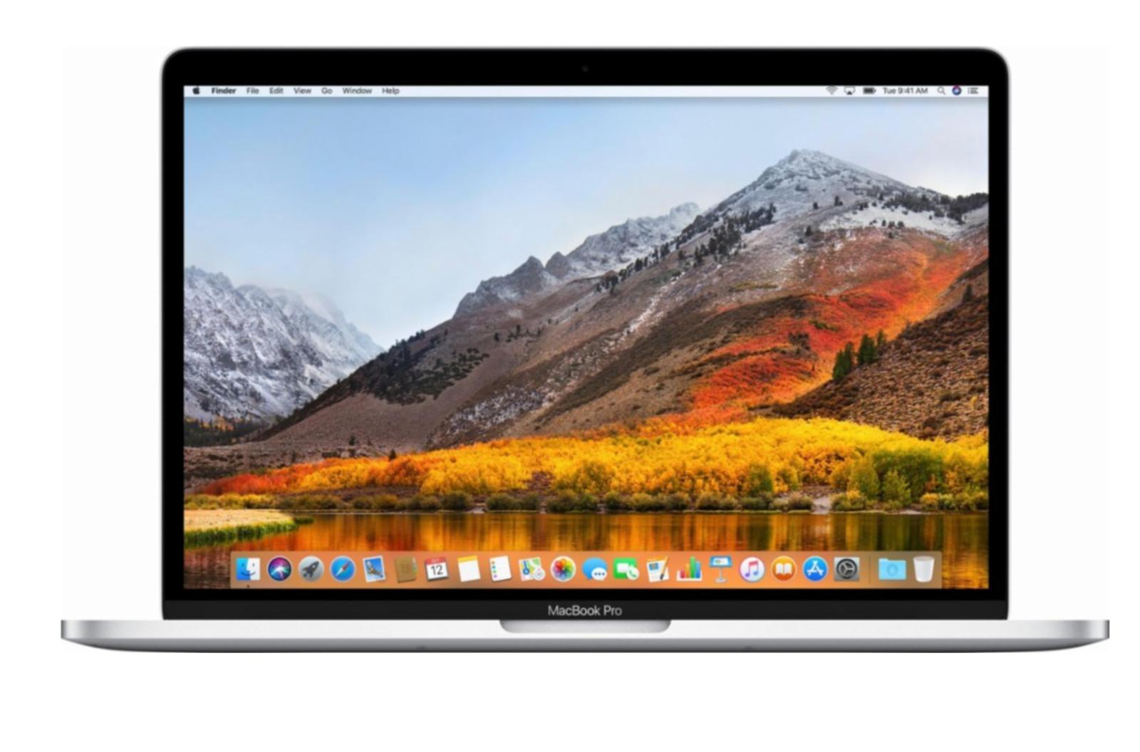 "BRAND NEW Apple MacBook Pro 13"" Laptop 256GB MPXU2LL/A Silver *Latest Version*"