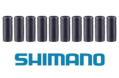 30 pcs Original Shimano SP41 Outer End Cap with long tongue For 4mm Gear Cable