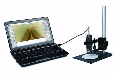 Insize Digital Electronic Measuring Microscope 10x - 200x Take Pictures Video