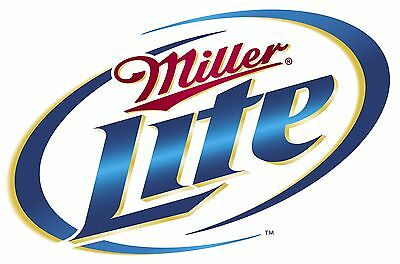 Miller Lite Vinyl Sticker Decal 18""