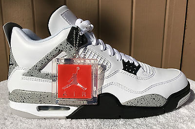 117145b245ebdc 2016 Nike Air Jordan Retro IV 4 White Cement Size 11 -840606-192 DEADSTOCK