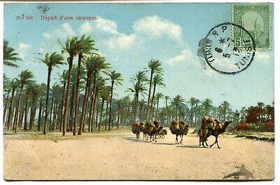 CPA - Carte Postale - Tunisie - Tunis - Départ d'une Caravane - 1912 (I9714)