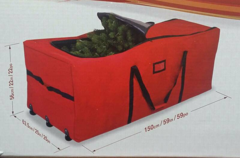 Extra Large Christmas Tree Storage Bag With Wheels Duffel