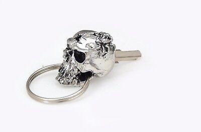 Skull blank key Harley Davidson Sportster iron xl883 chrome custom motorcycle l