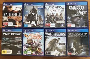 PS4 Games for Sale Brighton Brisbane North East Preview