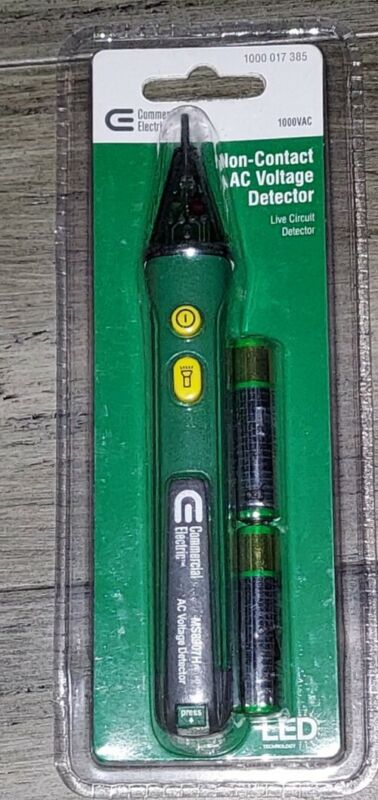 COMMERCIAL ELECTRIC NON CONTACT AC VOLTAGE DETECTOR....SEALED