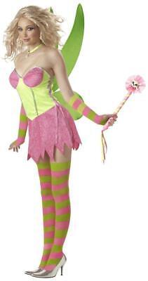 Tinkerbell Rocker Women's Costume, Womens Tinkerbell Fairy, Pairs w/Peter Pan - Female Rocker Costume