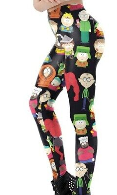 4bf04f64b5aa3 South Park Characters OSFM Polyester/Spandex Womens Leggings