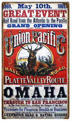 1869 Great Event Grand Opening Union Pacific Railroad