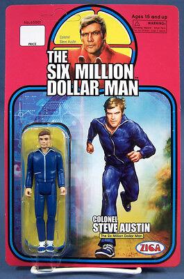 ZICA Toys Six Million Dollar Man Retro Steve Austin Action - Dollar Toys