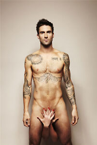 Maroon 5 Adam Levine Pop Rock Band Music Poster 20x13