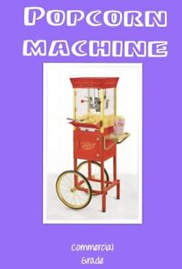 POPCORN, COTTON CANDY MACHINE RENTALS ($10 OFF SALE)