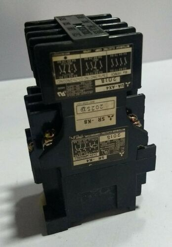Mitsubishi Electric Type SR -K4 /K8 Contactor with UA-AX4 201B Auxillary Contact