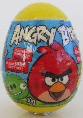 Angry Birds plastic Surprise egg with toy and candy -1 egg -