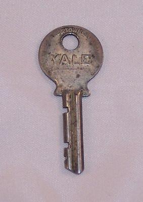 Vintage Antique Yale # 1 Flat Stamped Key Door Lock Padlock Safe Other for sale  Flintstone