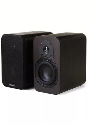 Micca RB42 Reference Bookshelf Speaker Whit 4-inch Woofer   And Silk Tweeter
