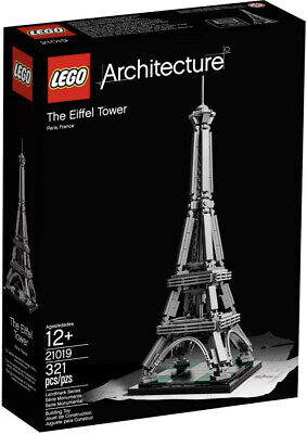 LEGO ARCHITECTURE / 21019 / THE EIFFEL TOWER / BRAND NEW SEALED