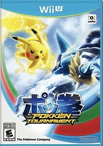 Pokken tournament for the Wii U