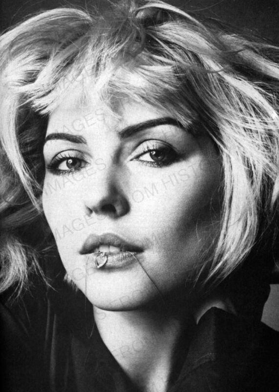 8x10 Print Debbie Harry Blondie #DH2