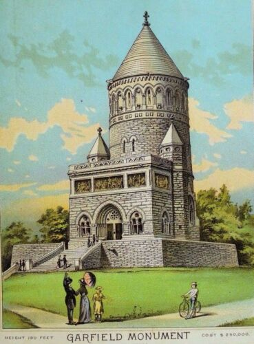 Stinchcombe Hendry & Co Victor Mara Coffee Image Of Garfield Monument *F