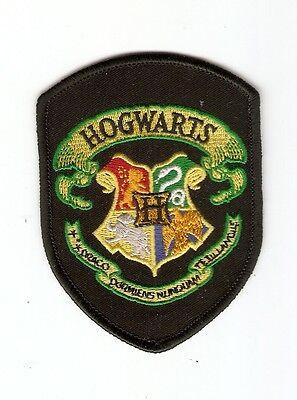 + HARRY POTTER Aufnäher/Patch  HOGWARTS Logo