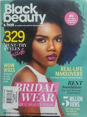 Black Beauty & Hair UK April May 2017 Bridal Wear 329 Styles FREE SHIPPING sb