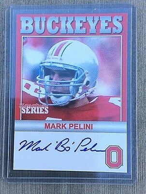 Bo Pelini auto Ohio State Legacy 2006 ex-Nebraska head coach Youngstown State