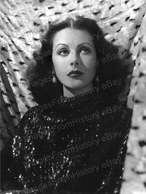 8x10 Print Hedy Lamarr Beautiful Portrait #HLS4