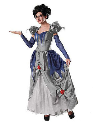 New Zombie Victorian Queen Halloween Gown Costume Dress Sinder-Ella SZ LG - Halloween Gown