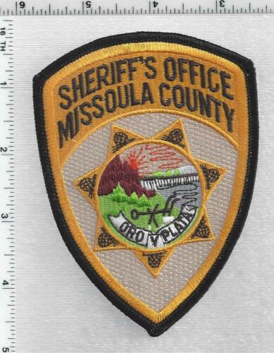 Missoula County Sheriff (Montana) 3rd Issue Shoulder Patch